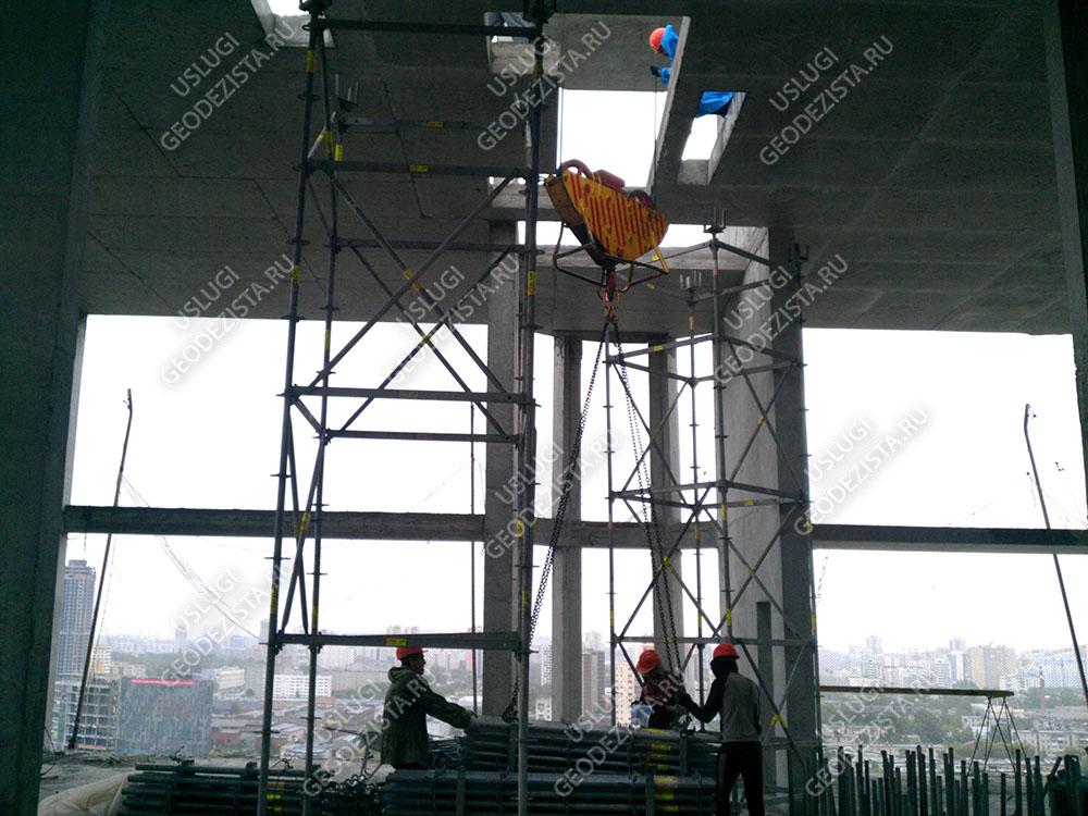 Сложные измерения бетонных конструкций