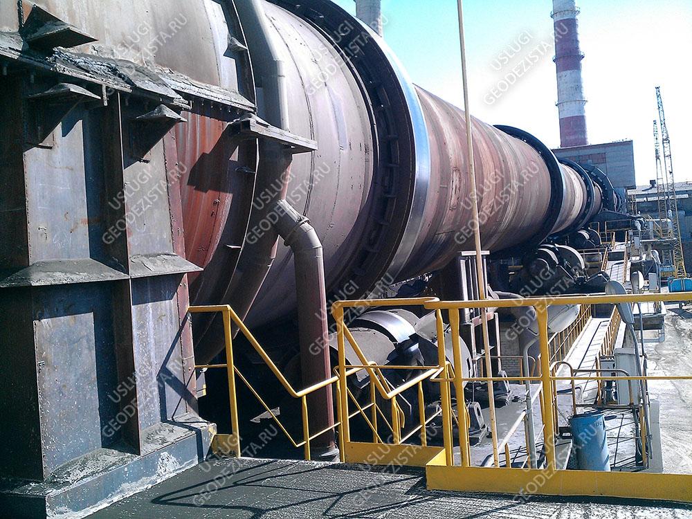 Выверка промышленного оборудования