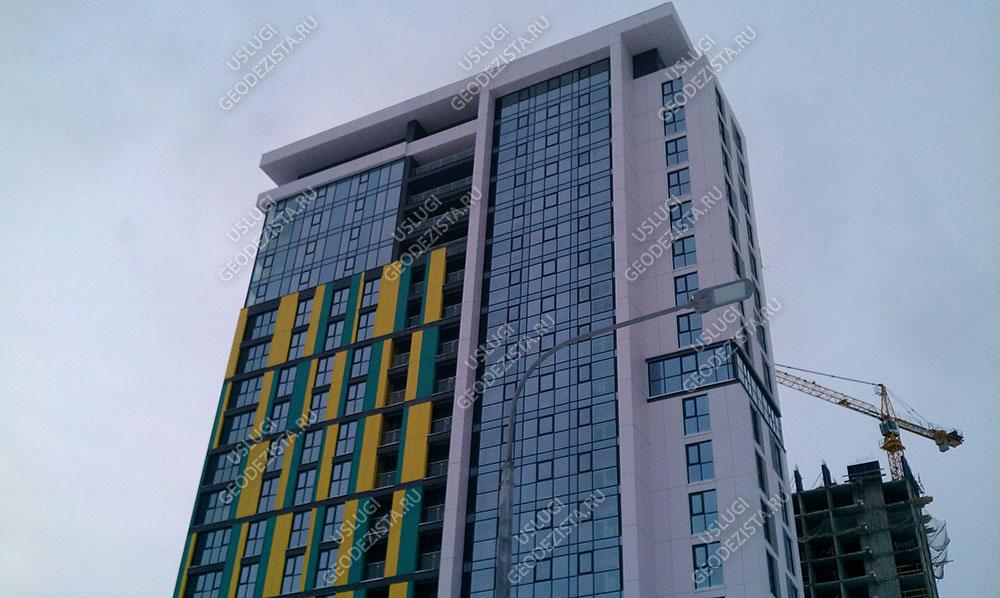 Геосъемка фасада