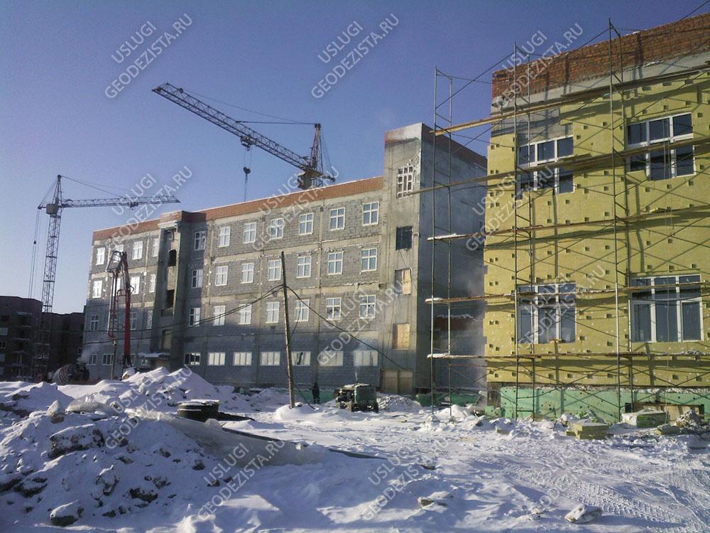 Разбивка элементов фасада
