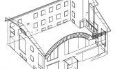 Съемка фасада здания
