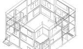 Проектирование фасада на основе геодезической съемки